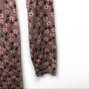 Hanna Andersson Dresses - Hanna Andersson Floral Long Sleeve Dress Pink 10